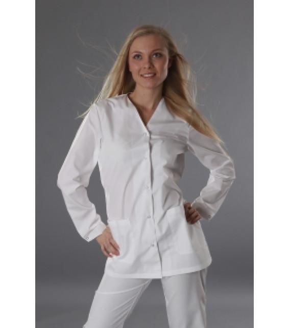 Куртка женская на пуговицах (спецодежда)  фото