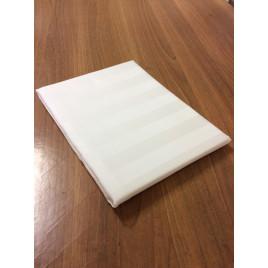 Простыня из сатин-страйпа евро (240х260) для гостиниц фото
