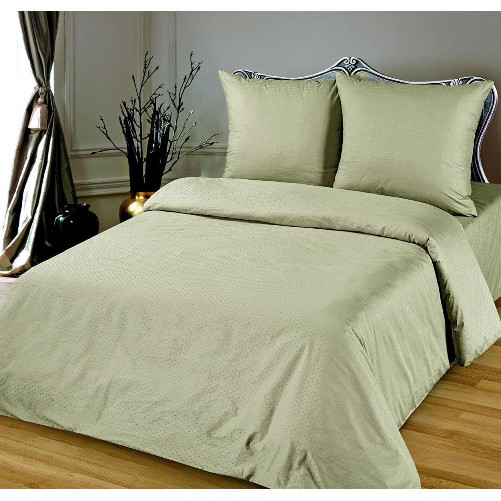 Евро комплект постельного белья из сатина фото