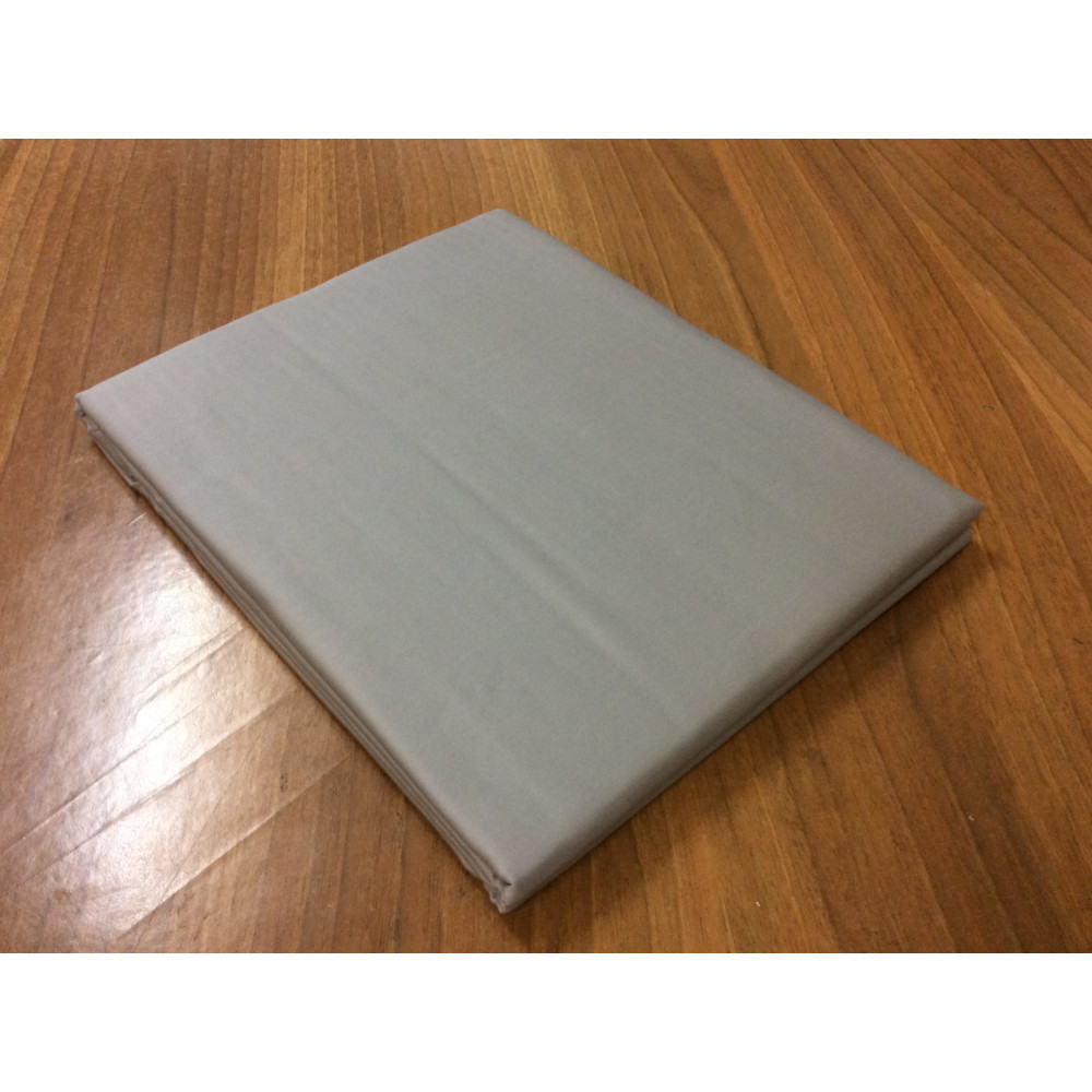 "Простыня из сатина ""Серый"" евро-размер (280х280) фото"