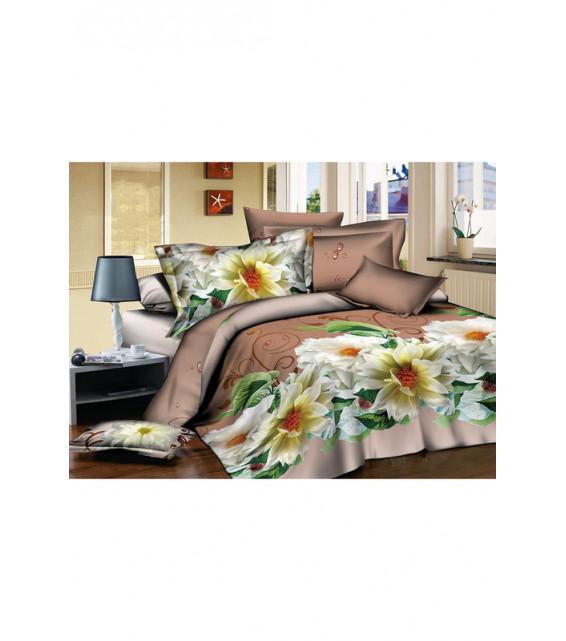 2-х спальный комплект постельного белья из поплина фото