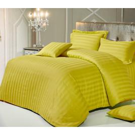 Евро комплект постельного белья из сатин-страйпа фото