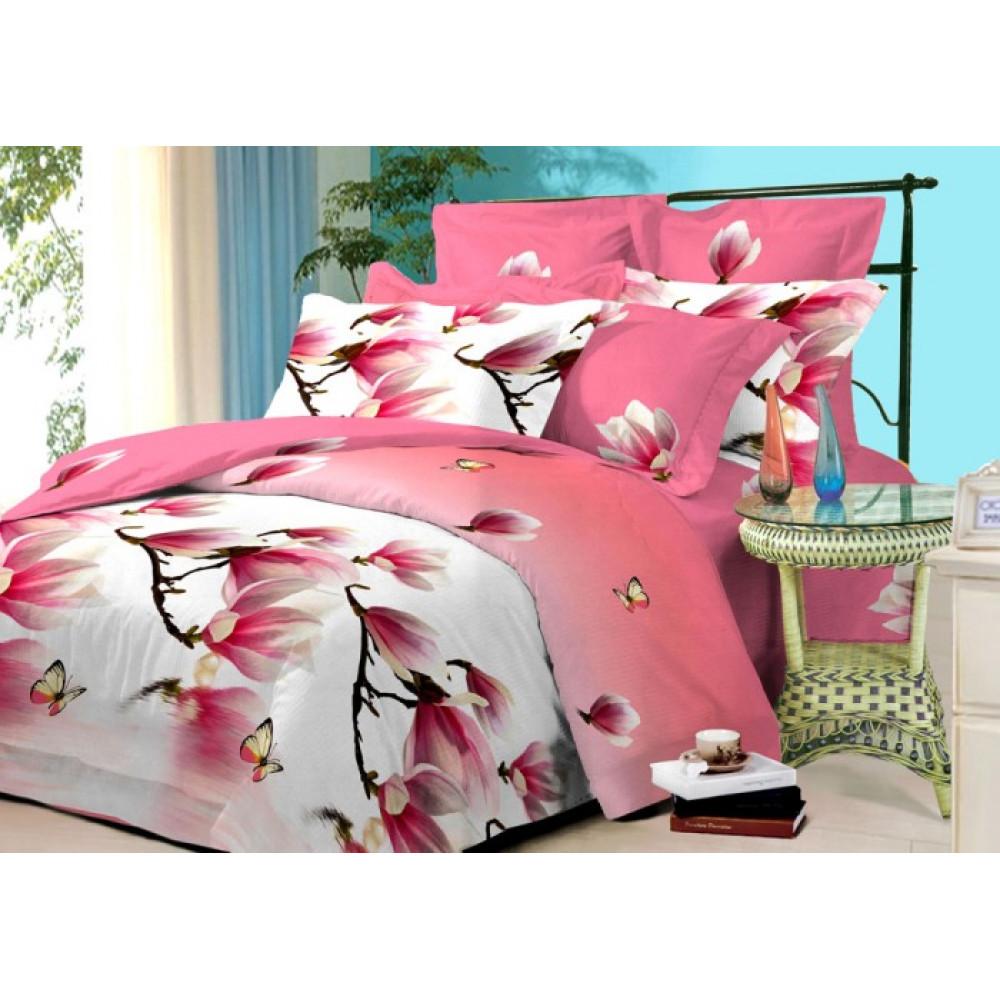 Семейный комплект постельного белья из бязи фото