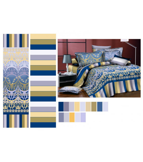 1.5 спальный комплект постельного белья из сатина (скидка 20%) фото