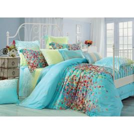 Семейный комплект постельного белья из сатина фото