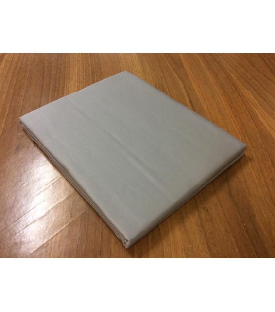 "Простыня из сатина ""Серый"" евро-размер (260х280) фото"