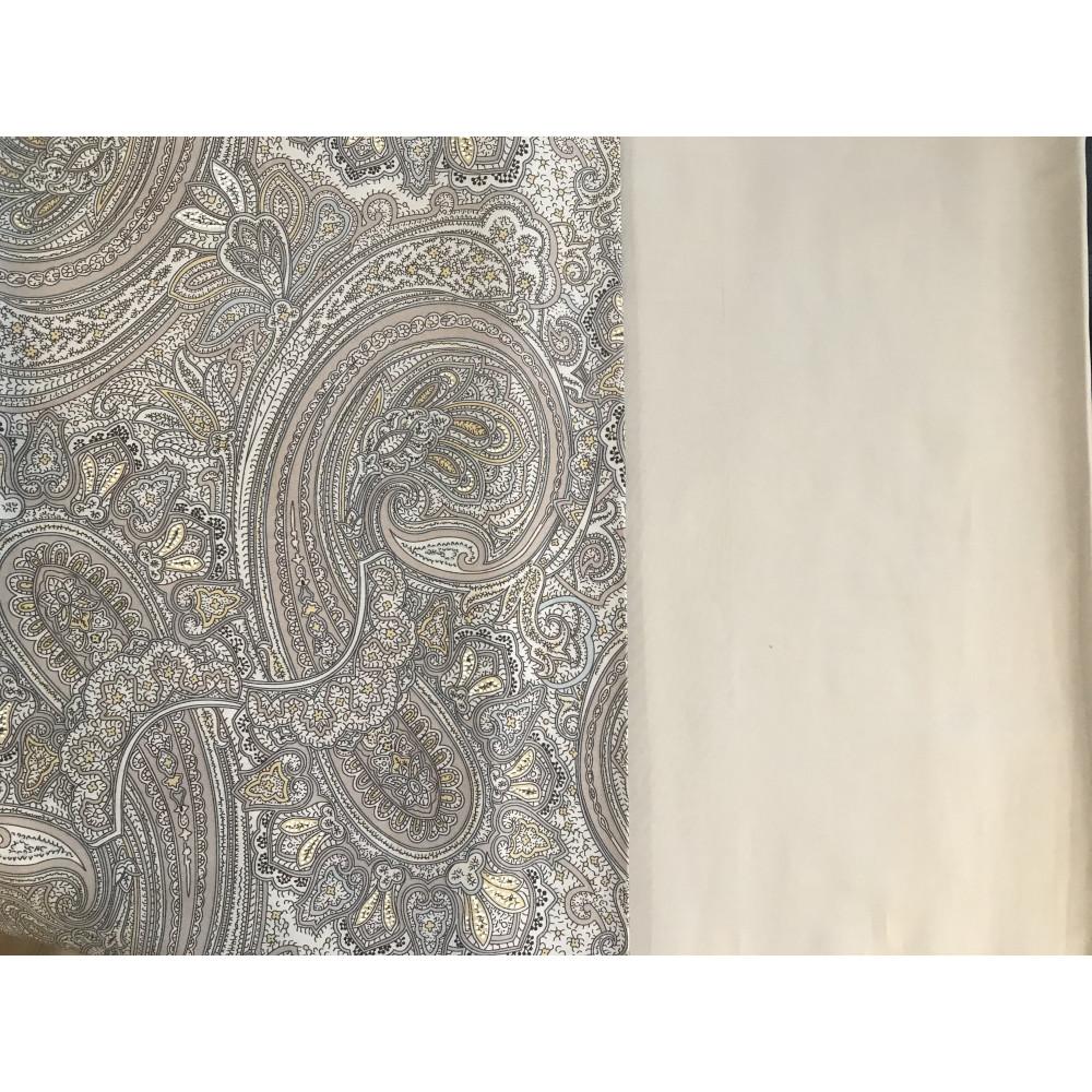 Евро комплект постельного белья из сатина премиум фото