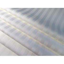 Простыня на резинке из сатин-страйпа (200х180х20) фото