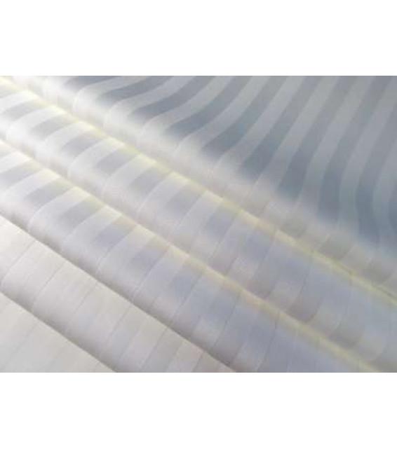 Простыня на резинке из сатин-страйпа (200х90х20) фото