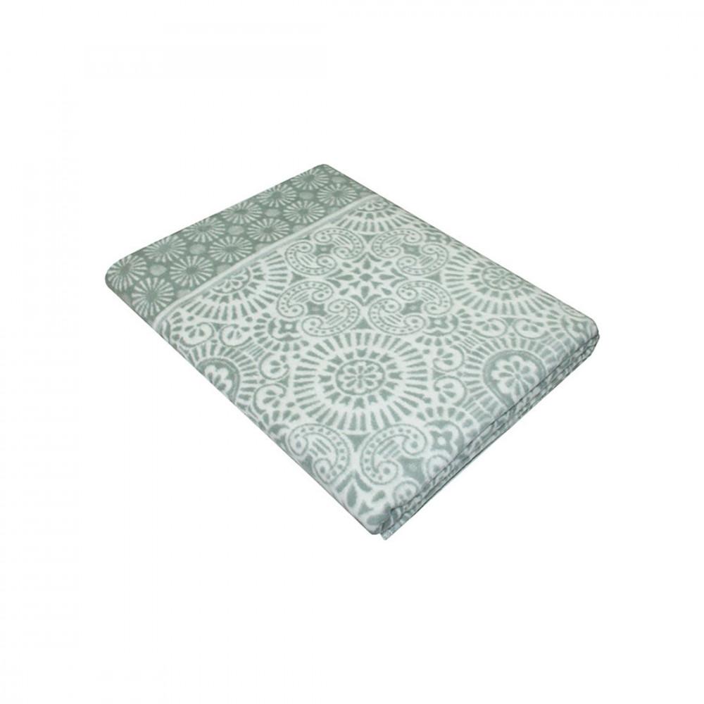 Одеяло байковое 5772ВЖК, в ассортименте (100% хлопок) фото