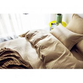 1.5 спальный комплект постельного белья из сатин-страйпа фото