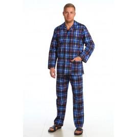 Пижама мужская фланелевая фото