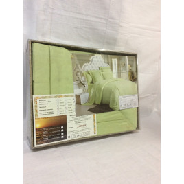 Евро комплект постельного белья из сатин-жаккарда фото