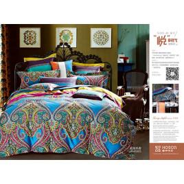 2-х спальный комплект постельного белья из сатина премиум-класса фото